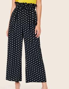 See You Monday Polka Dot Palmetto Wide Leg Pants